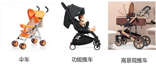 婴儿车的分类