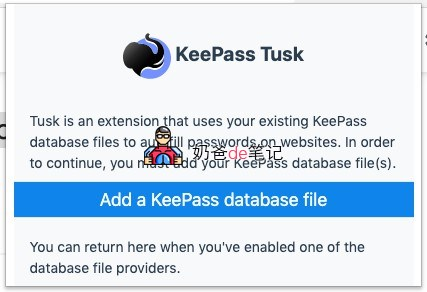 KeePass Tusk - Password Access and Autofill