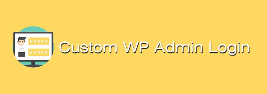 Custom WP Admin Login