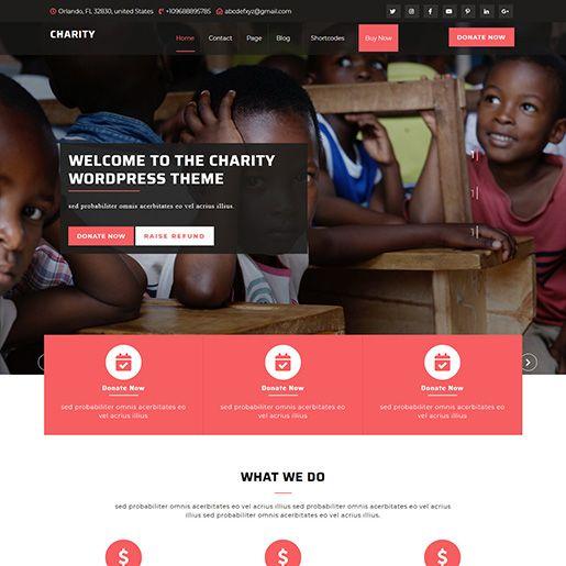 VW Charity NGO主题